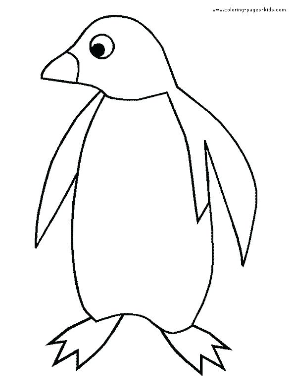 590x787 Penguin Color Pages Coloring Page Penguin Penguin Coloring Pages