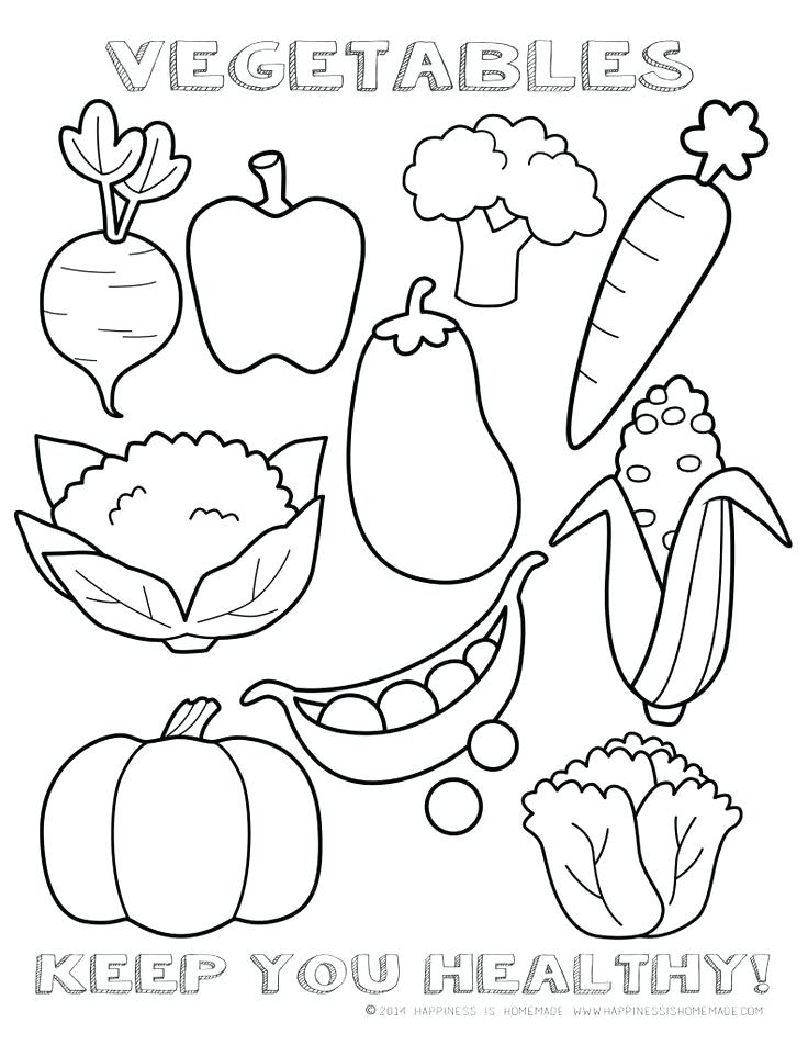 736x952 Healthy Food Coloring Pages Strawberry Eating Healthy Food