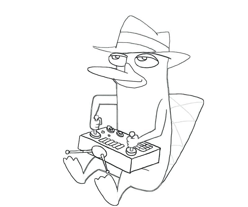 Platypus Coloring Page at GetDrawings.com | Free for ...