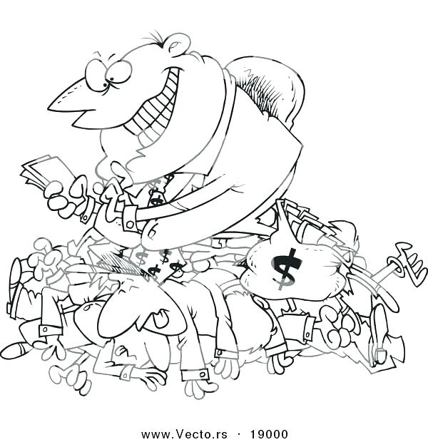 600x620 Money Coloring Sheets Coin Coloring Pages Remarkable Money