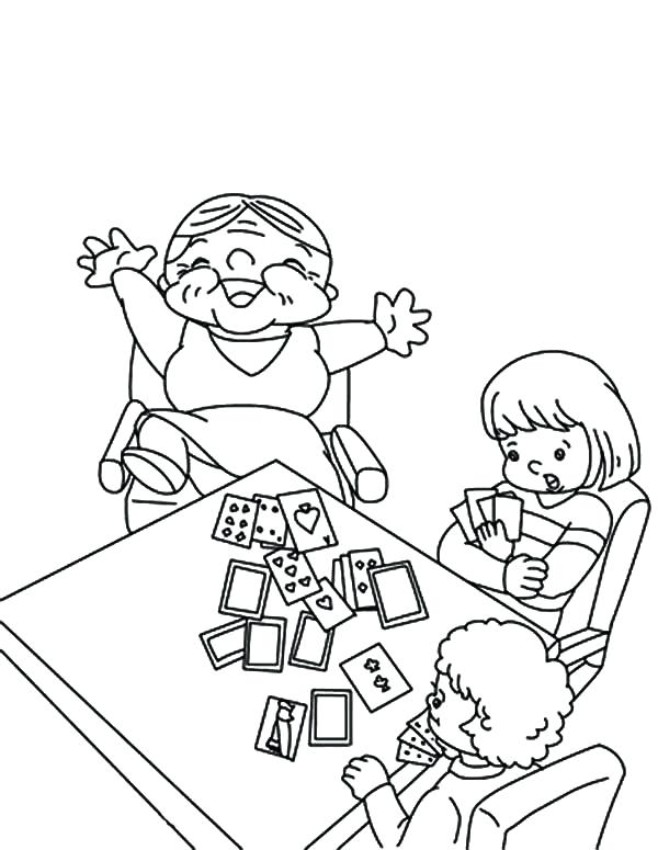 600x775 Card Coloring Pages Birthday Card Colouring Pages Playing Card