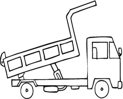 400x322 Plow Truck Coloring Pages Page Image Clipart Images
