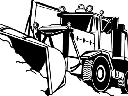 440x330 Snow Plow Coloring Page, Katy Snow Plow Coloring Page Coloring
