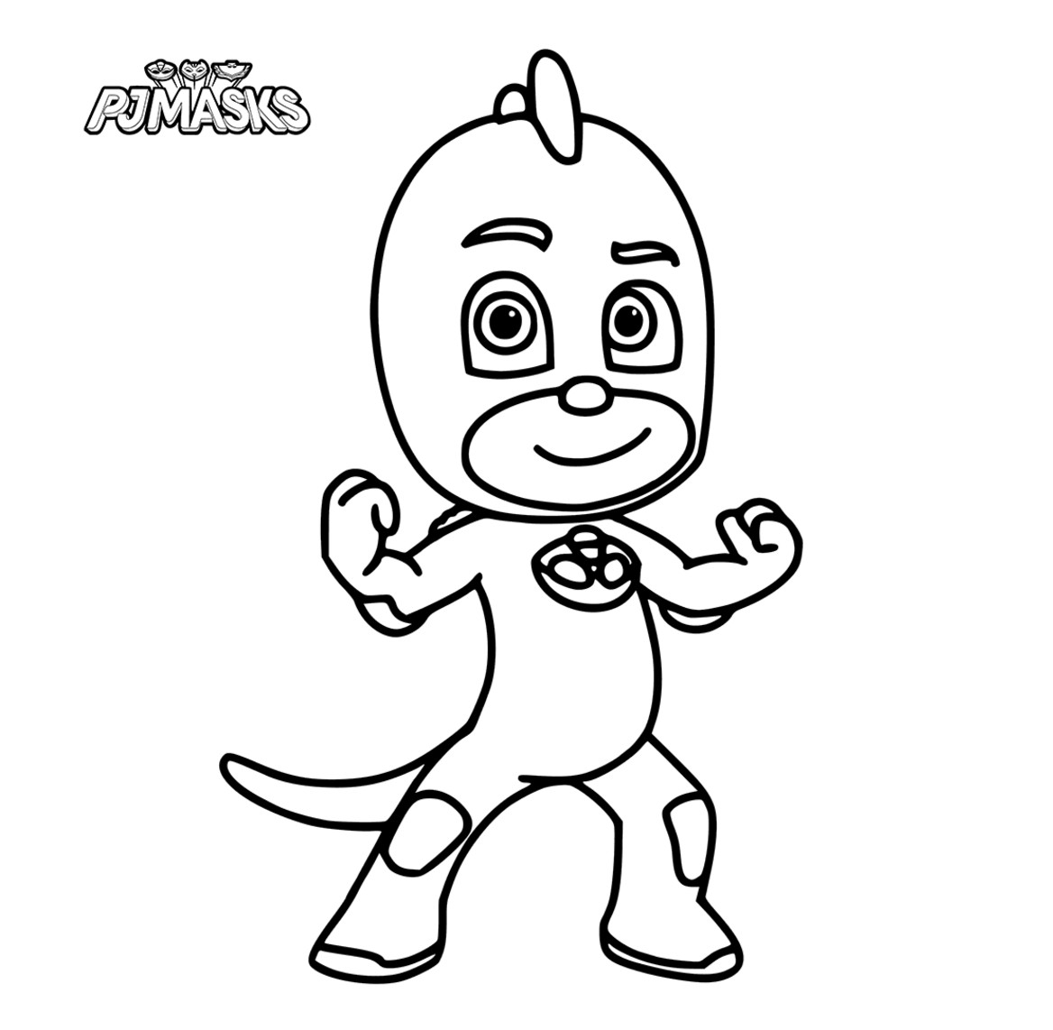 1168x1142 Pj Masks Coloring Pages Free Printable Coloring For Kids