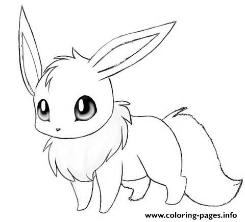 480x434 Eevee To Coloring Pages Print