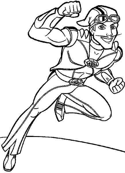 435x600 Lazy Town Printable Coloring Pages