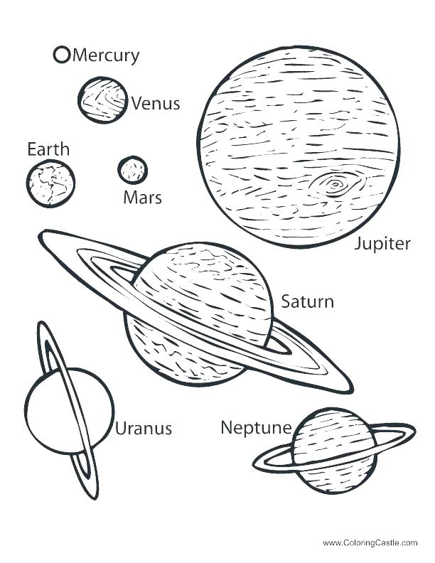 612x792 Planet Coloring Page S Ing Pluto Planet Coloring Pages