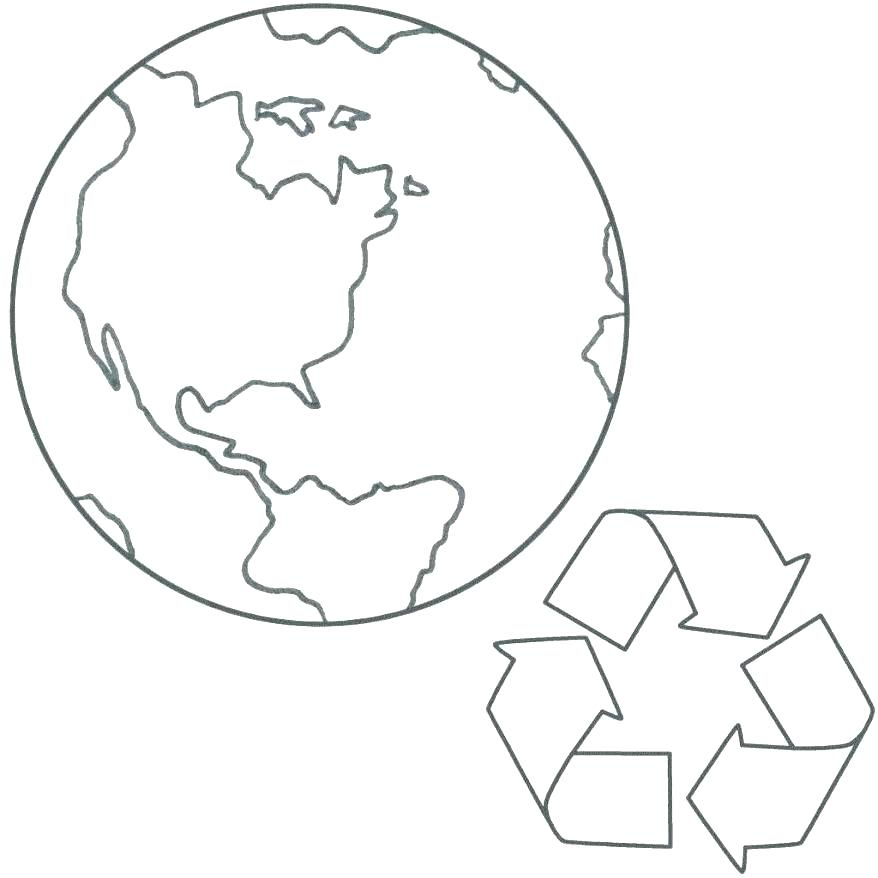 878x878 Planet Coloring Pages For Preschoolers Collection Printable Earth