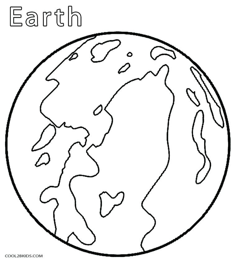 750x840 Pluto Planet Coloring Pages