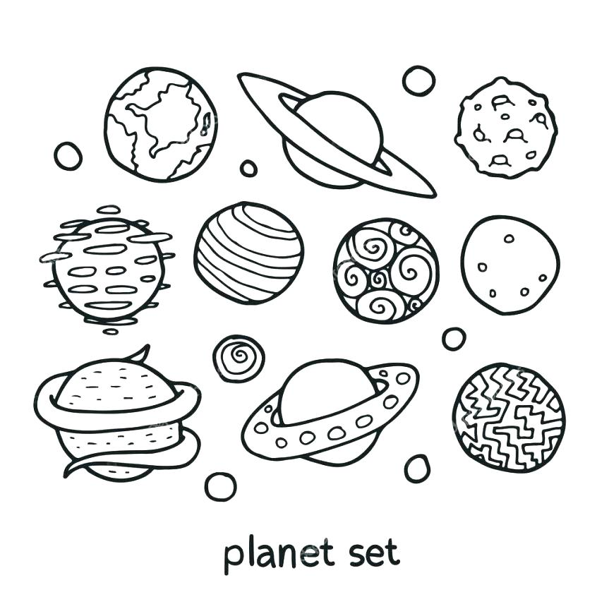 863x863 Planet Coloring Page Coloring Pages Of The Planets Pin Drawn