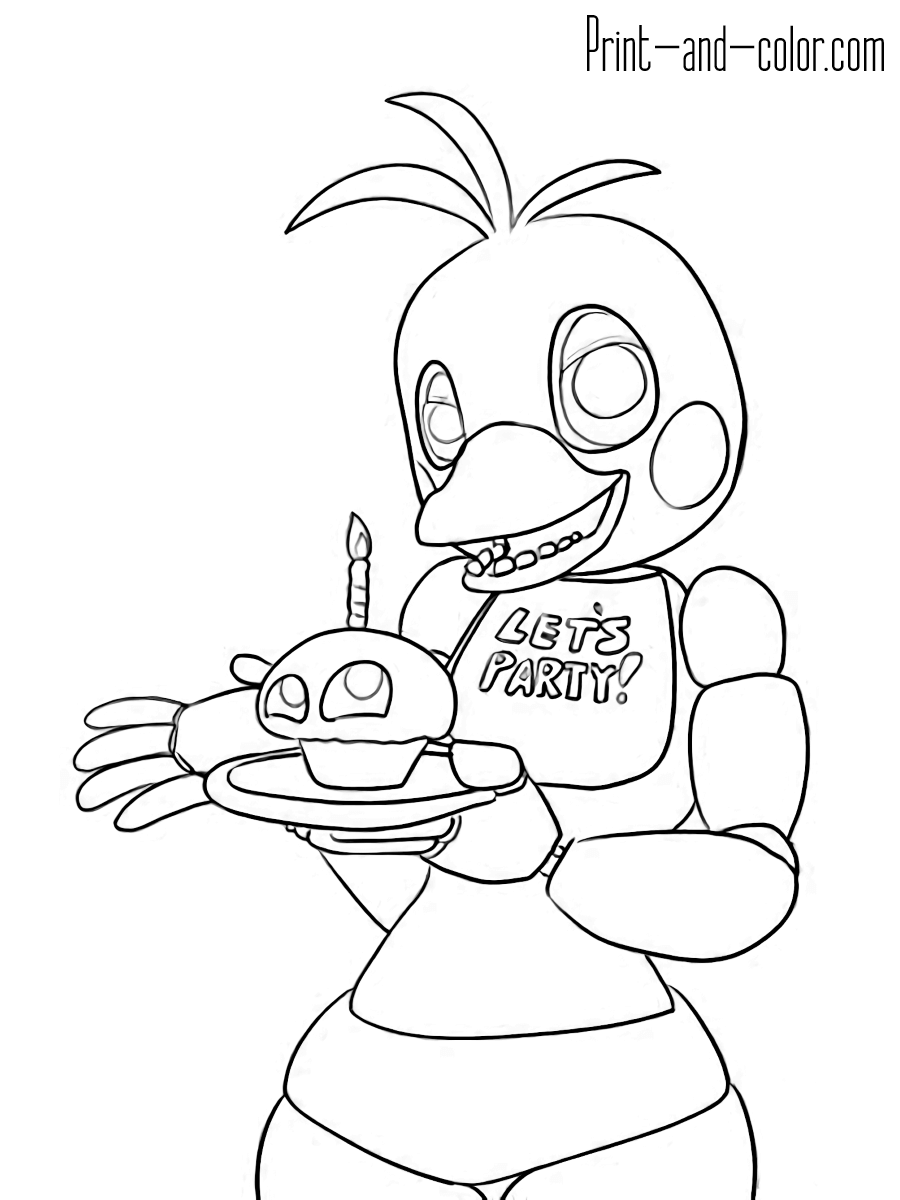 900x1200 Genuine Fnaf Mangle Coloring Pages Png Toys