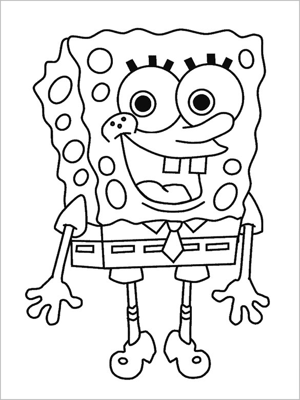 585x780 Preschool Coloring Pages Free Word, Pdf, Png Format