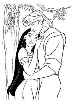 236x334 John Rolfe And Pocahontas Kids Coloring Pages With Free Colouring