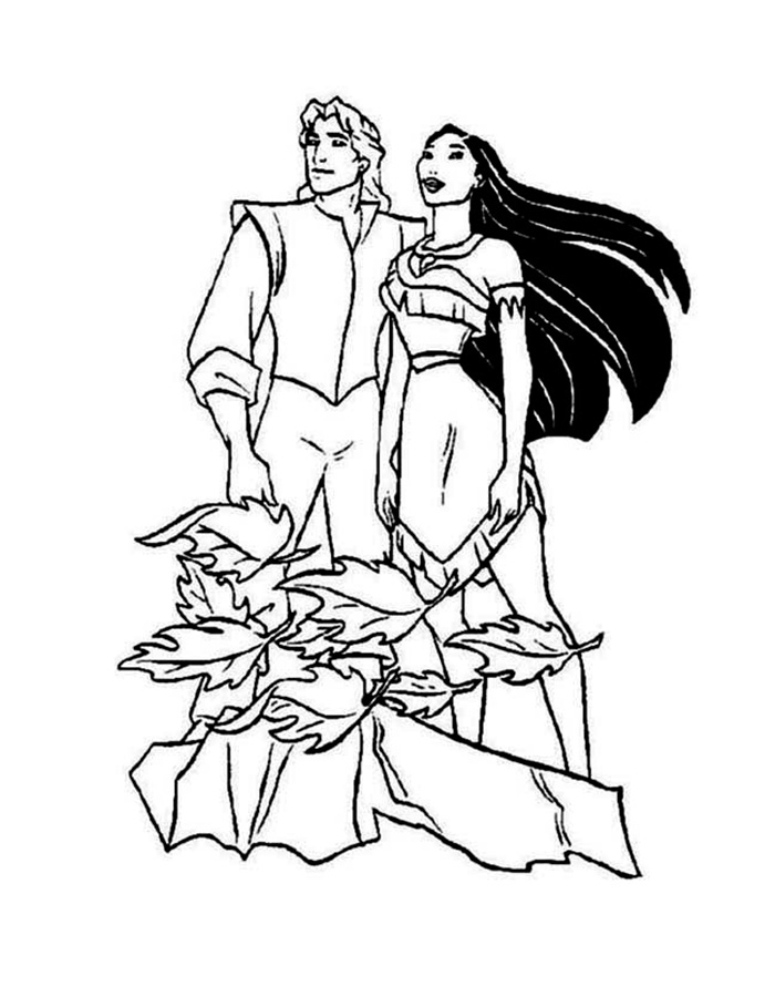 700x900 Disneypocahontas Coloring Pages