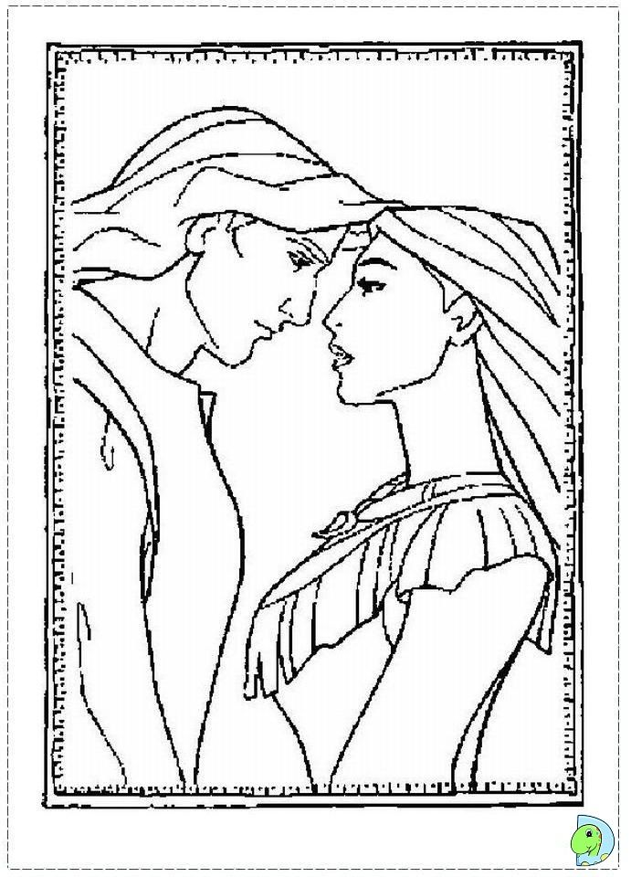 Pocahontas Printable Coloring Pages