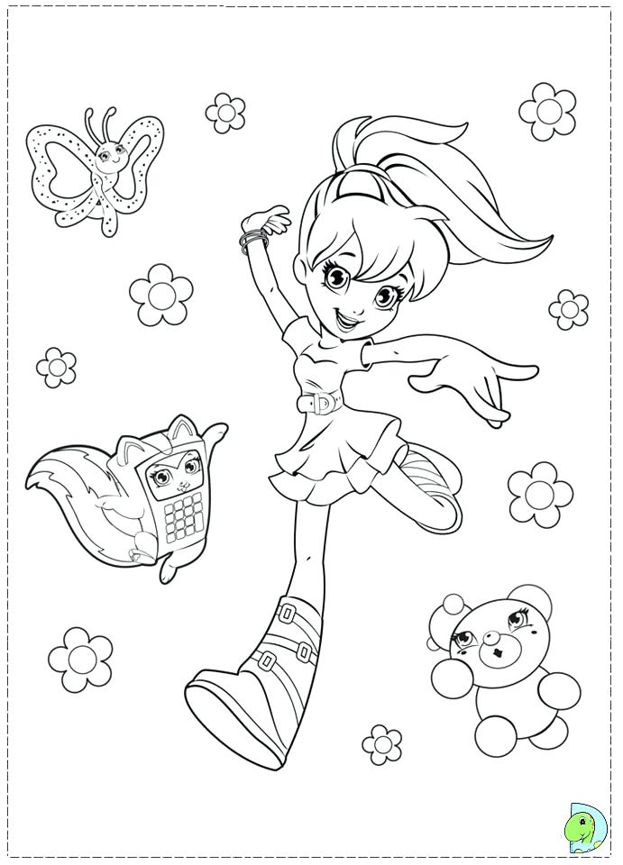 691x960 Polly Pocket Coloring Pages Pocket Coloring Pages Coloring Page