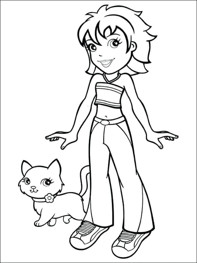 750x1000 Pocket Coloring Page Pocket Polly Pocket Coloring Sheets