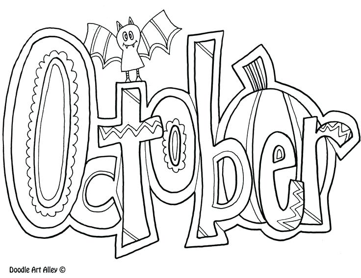 736x568 Month Coloring Pages Here Are Some Months Of The Year Coloring