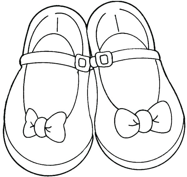 600x569 Coloring Pages Shoes Shoes For Teenage Girl Coloring Page Coloring