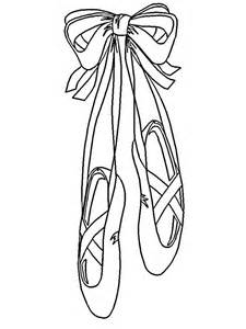225x300 Ballet Pointe Shoes Coloring Page On The Tip, Pointe Shoes