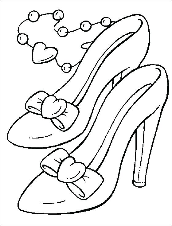560x736 Pointe Shoes Coloring Pages S S S Ballet Shoes Colouring Sheets