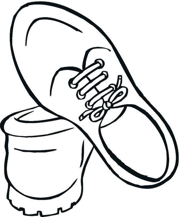 631x760 Shoes Pictures To Color Shoes Coloring Page Basketball Shoes Shoes