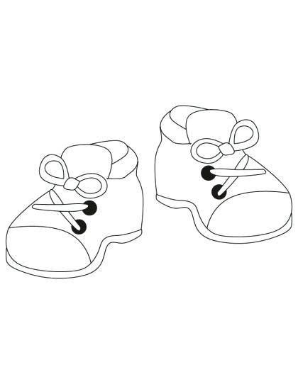 420x542 Coloring Page Shoes Coloring Pages Shoes With Coloring Pages Shoes