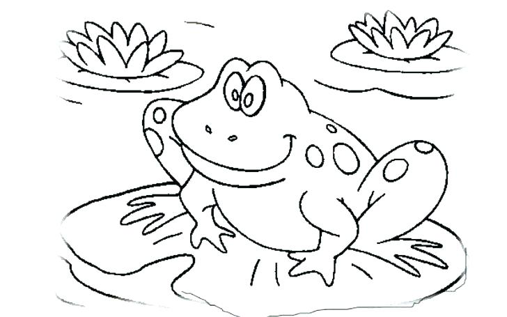 728x455 Frog Coloring Pages To Print New Frog Coloring Sheet Inspiring