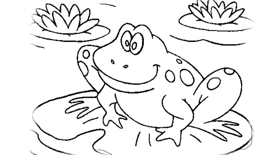 960x544 Princess And The Frog Coloring Pages Printable Frog Coloring Pages