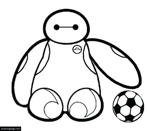 600x533 Ball Coloring Page Big Hero Soccer Ball Coloring Page Pokemon Ball