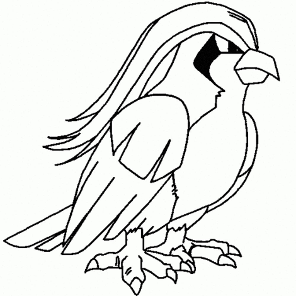 Pokemon Black And White 2 Coloring Pages
