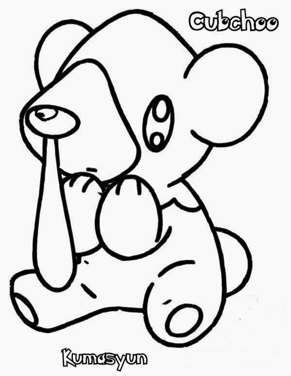 600x776 Special Collection Of Pokemon Black And White Coloring Pages Free