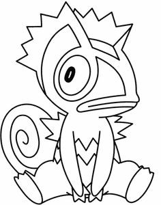 Pokemon Blaziken Coloring Pages