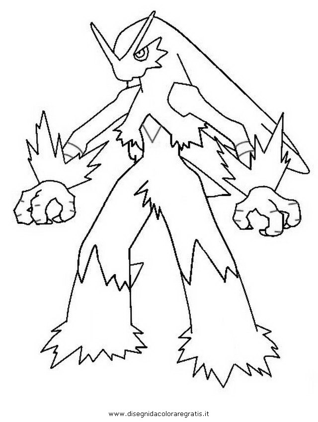 640x850 Sweet Looking Pokemon Coloring Pages Blaziken Page Mega