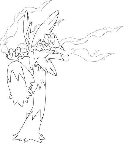 414x480 Mega Diancie Coloring Pages Mega Blaziken Pokemon Coloring Page