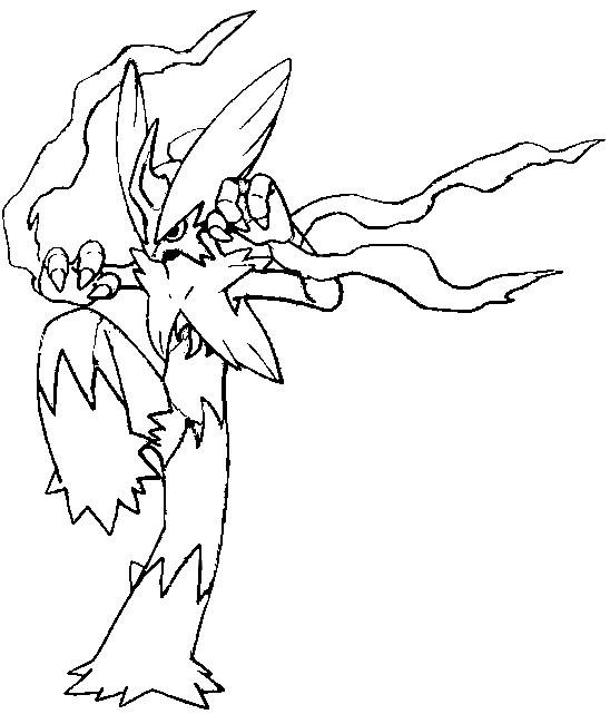 548x650 Coloring Page Mega Evolved Pokemon Mega Blaziken