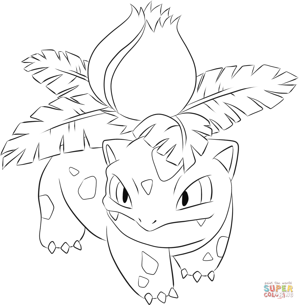 Pokemon Bulbasaur Coloring Pages at GetDrawings | Free ...