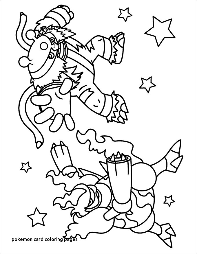 680x878 Pokemon Card Coloring Pages