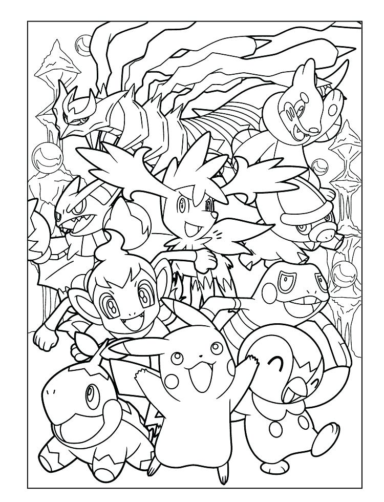 750x980 Pokemon For Coloring All Anime Coloring Pages For Kids Printable