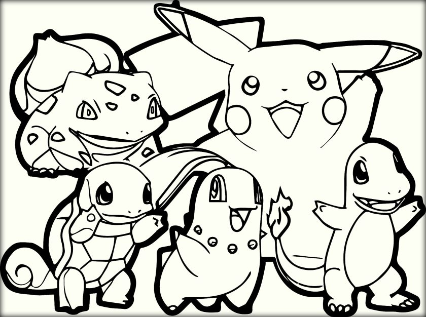 840x626 Best Free Printable Pokemon Coloring Pages For Kids Free