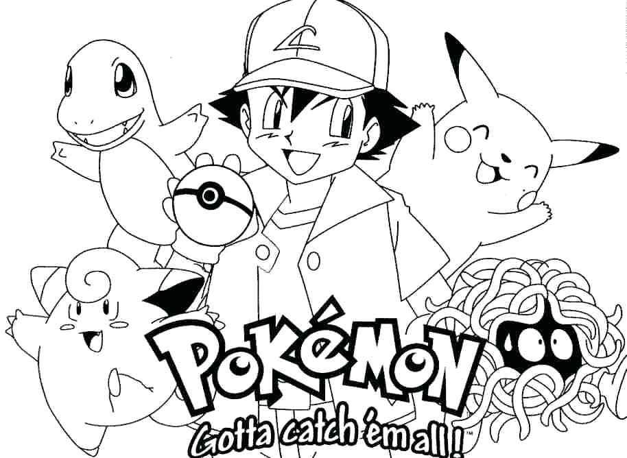 914x668 Pokemon Coloring Pages Online Mesmerizing Pokemon Coloring Pages