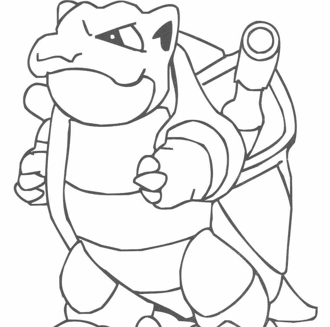 1091x1080 Mega Blastoise Ex Coloring Sheets Pokemon Pages Cartoons Page