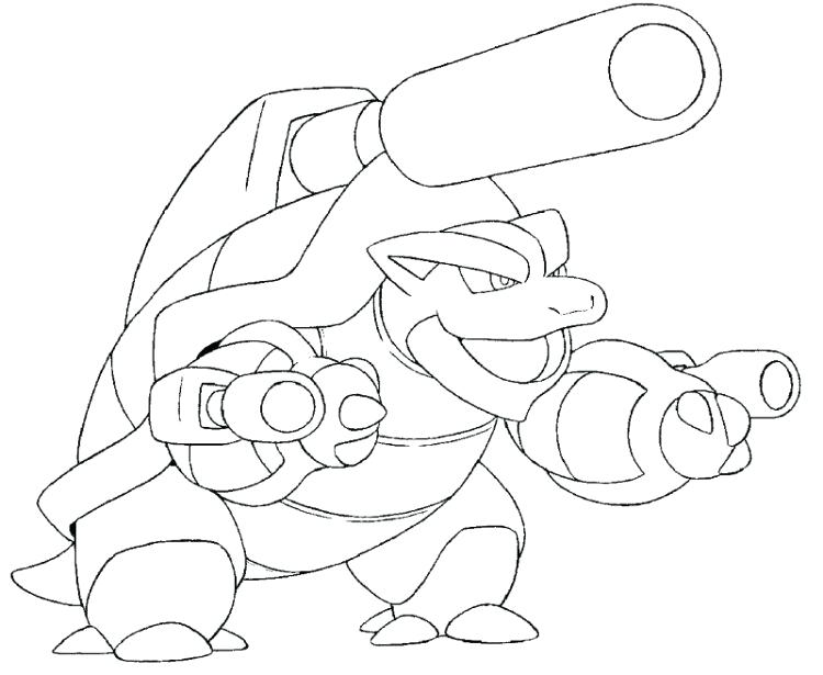 750x615 Pokemon Coloring Pages Blastoise Bltoise S Pokemon Coloring Pages