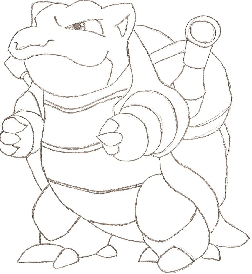 856x932 Pokemon Coloring Pages Mega Blastoise Page Home Arresting