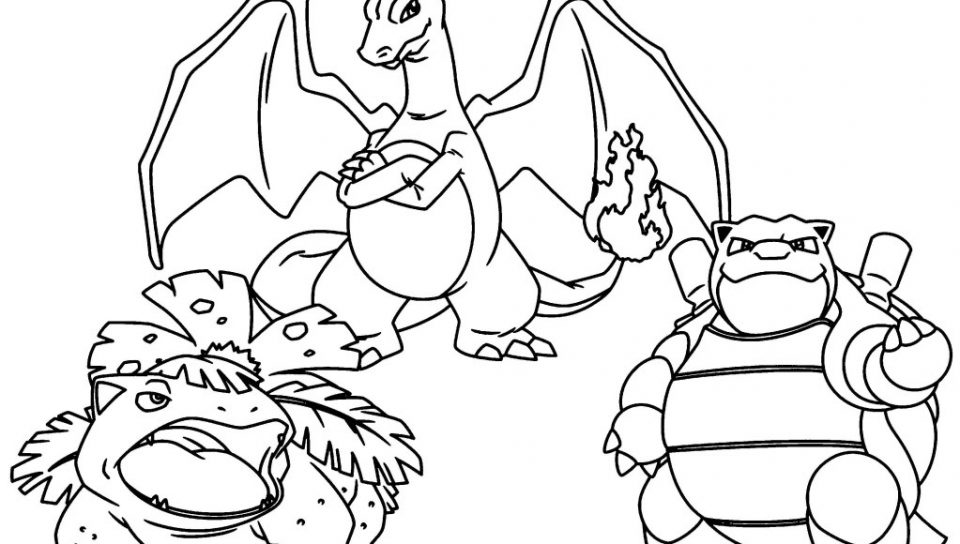 960x544 Pokemon Coloring Pages Mega Blastoise Web Cartoons Ex Page Stock