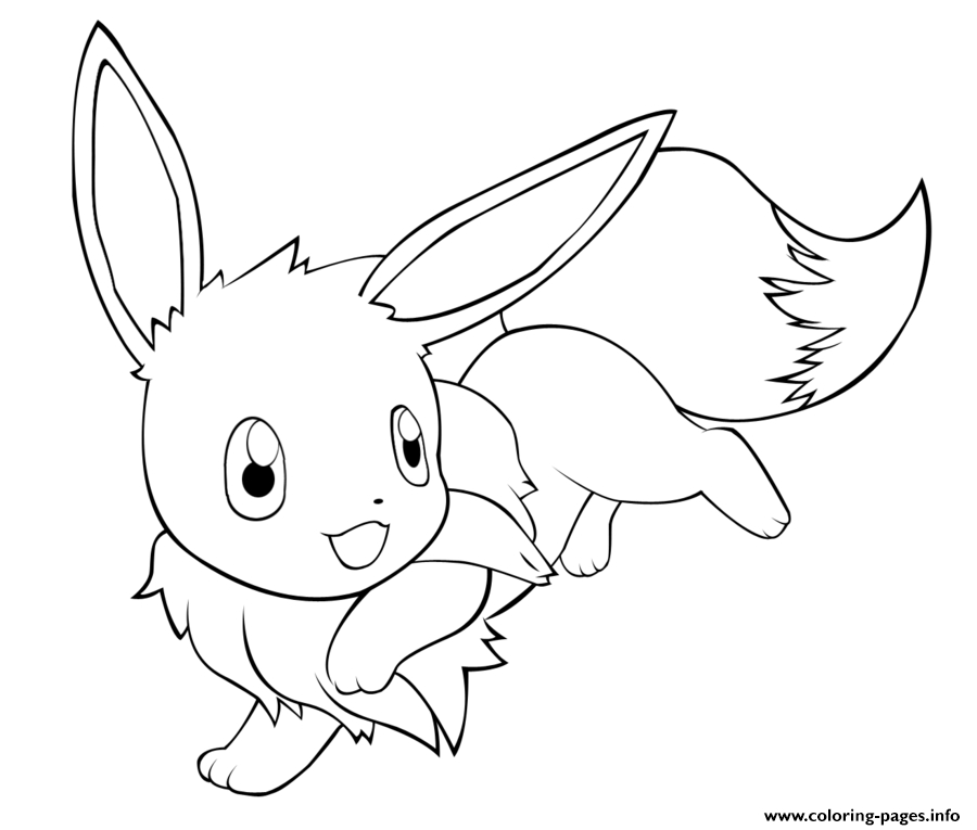 The Best Free Eevee Coloring Page Images Download From 505 Free