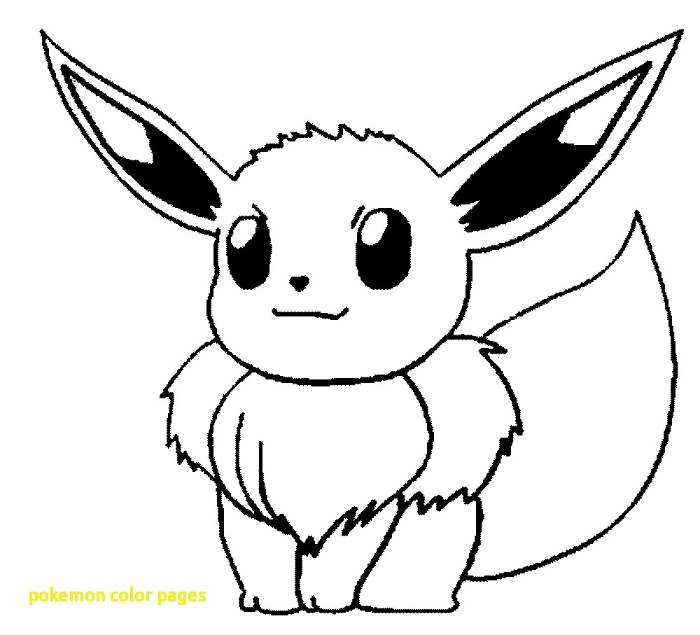 1000x907 Pokemon Color Pages With Cute Pokemon Coloring Pages Pokemon Cute