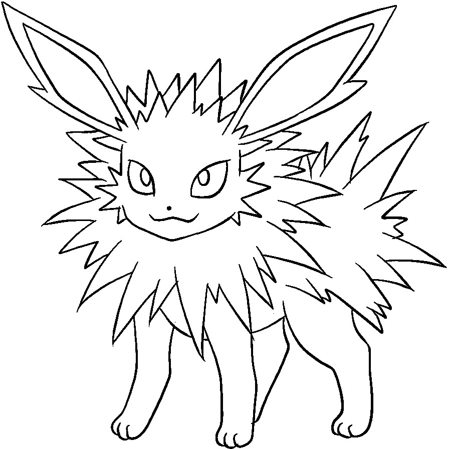 900x896 Pokemon Coloring Pages Eevee Evolution Book Fun Beauteous