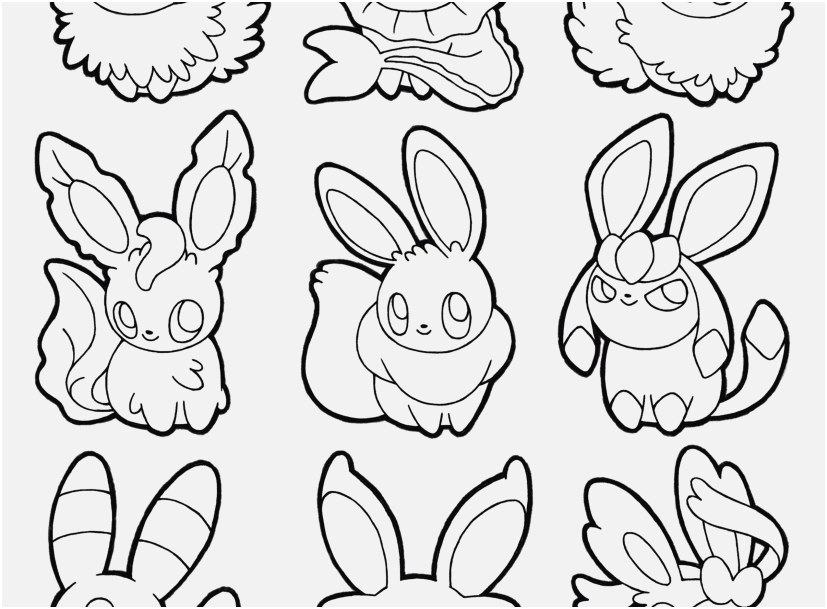 827x609 Pokemon Coloring Pages Eevee Evolutions Picture Pokemon Coloring
