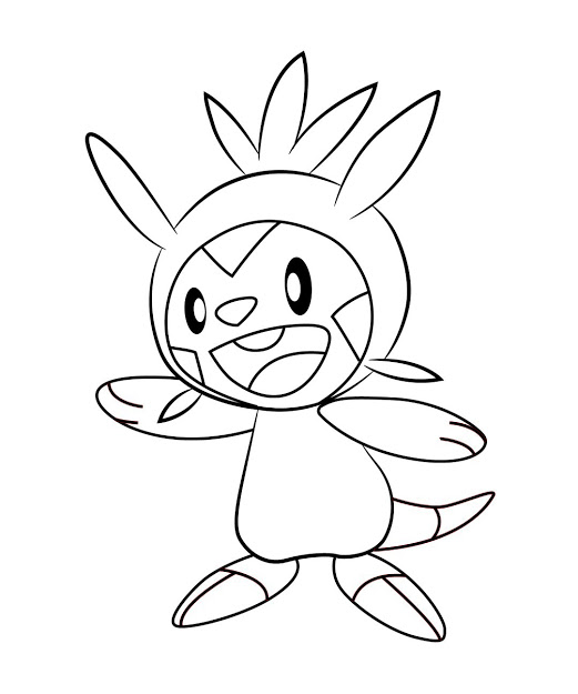 Pokemon Coloring Pages Fennekin At Getdrawings Free Download